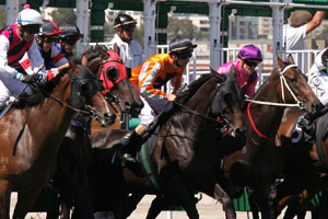 Better Luck sees Hear The Chant win the Thoroughbred Club Stakes